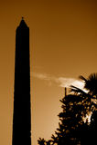 обелиск огородил Стоковая Фотография