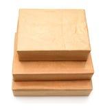 обернутая парцелла коричневой бумаги Стоковое Фото