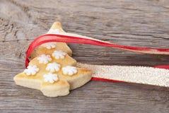 Обернутое печенье рождества Стоковое Изображение