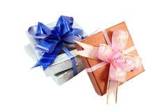 обернутые подарки Стоковые Фотографии RF