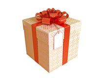 обернутый подарок 2 Стоковое Фото