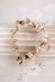обернутый шнур сердца резца печений грубый стоковая фотография