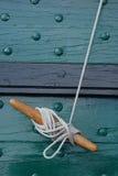 обеспеченная веревочка Стоковые Фотографии RF