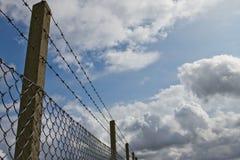 обеспеченность загородки Стоковое Фото