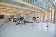 обеспеченность залы входа контрольного пункта здания Стоковые Фотографии RF