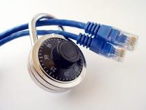 обеспеченность интернета Стоковая Фотография