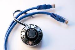 обеспеченность интернета Стоковая Фотография RF