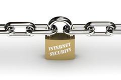 обеспеченность интернета Стоковые Изображения