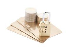 обеспеченность компенсации кредита карточки Стоковые Фото