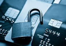 обеспеченность кредита карточки Стоковая Фотография RF