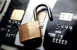 обеспеченность кредита карточки Стоковые Фотографии RF