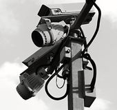 обеспеченность множества copyspace камеры Стоковые Изображения RF
