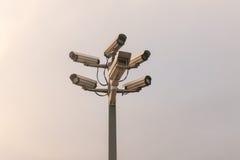 обеспеченность множества copyspace камер Стоковое Изображение RF