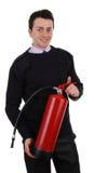 обеспеченность предохранителя пожара гасителя Стоковое Изображение RF