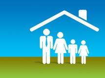 обеспеченность финансов домашняя Стоковое Изображение