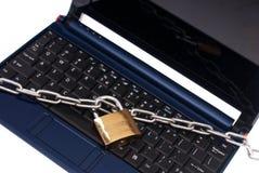 обеспеченность netbook Стоковая Фотография