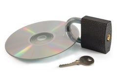 Обеспеченный диск данных Стоковая Фотография