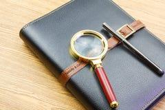 Обеспеченный дневник Стоковые Изображения