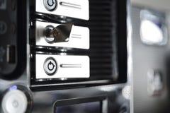 Обеспеченный шкаф сервера Стоковая Фотография RF