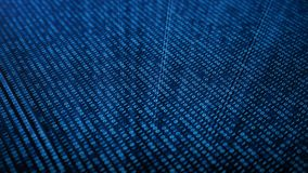 Обеспечивает acces безопасностью с бинарным кодом Концепция бинарного кода Цифров одно и нул на голубой предпосылке с бесплатная иллюстрация