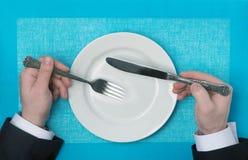 Обедающий и ужин стоковая фотография