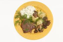Обедающий мяса Стоковые Изображения