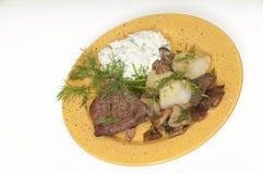 Обедающий мяса Стоковые Фотографии RF