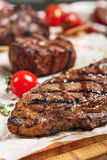 Обедающий стейка говядины Стоковая Фотография