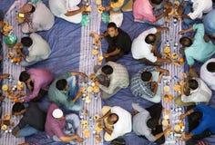 Обедающий Iftar стоковые фото
