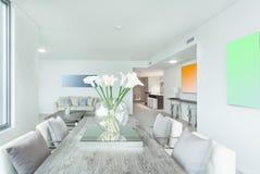 Самомоднейший интерьер квартиры Стоковое Изображение RF