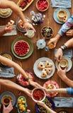 обед вкусный стоковое фото