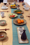 Обеденный стол восточного стиля традиционный, саман rgb стоковое изображение
