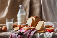 обед деревенский Стоковая Фотография RF
