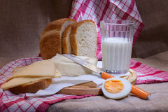 обед деревенский Стоковое Фото