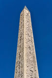 Обелиск Луксора в Париже Стоковая Фотография