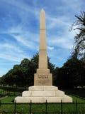 Обелиск предназначил к Speke в садах Kensington, Лондону Стоковое Изображение