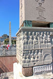 Обелиск Theodosius в Стамбуле, Турции Стоковые Фотографии RF
