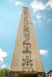 Обелиск Theodosius, старый египетский обелиск Phara Стоковые Фото
