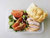 обед коробки здоровый Стоковые Фото
