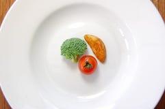 обед принципиальной схемы Стоковое Фото
