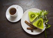Обед с суфлем кивиа Стоковые Фотографии RF