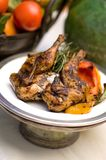 обед цыпленка Стоковая Фотография RF