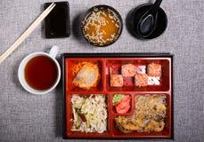 обед японца bento Стоковая Фотография