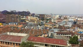 Обзор Антананариву, столица Мадагаскара Стоковое фото RF