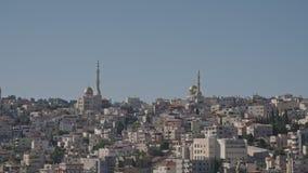 Обзор арабского города в Израиле видеоматериал