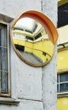 Обзор зеркала на дороге Стоковое Изображение RF