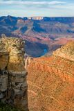 обзор каньона грандиозный Стоковое Фото