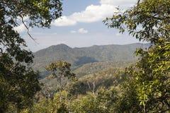 Обзор национального парка Lum Nam Kong Стоковое фото RF
