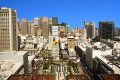 Обзор над Сан-Франциско Стоковое Изображение RF