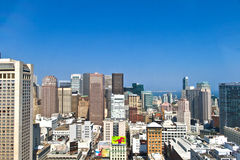 Обзор над Сан-Франциско Стоковые Фото